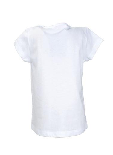 Zeyland Beyaz Flower Rabbit T-Shirt (9ay-4yaş) Beyaz Flower Rabbit T-Shirt (9ay-4yaş) Beyaz